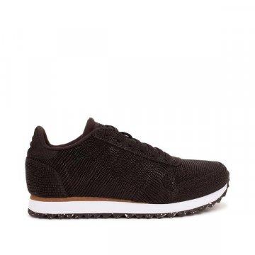 Woden Ydun Pearl II Sneaker, black schwarz