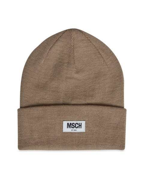 Moss Copenhagen Mojo Beanie, travertine beige One-Size