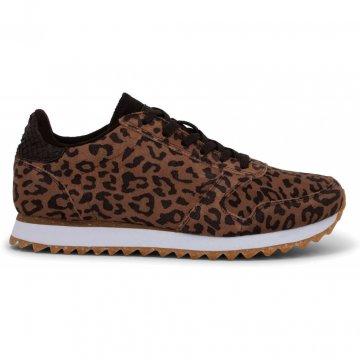 Woden Ydun Suede Leopard Sneaker
