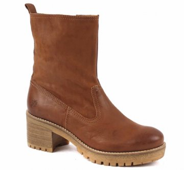 Apple of Eden Anne Casual Mid Boot Stiefel cognac