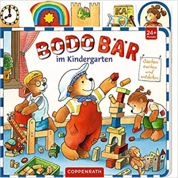 Buch - Bodo Bär im Kindergarten - Hartmut Bieber