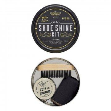 Gentlemens Hardware Travel Shoe Shine Kit Reise-Schuhputz...