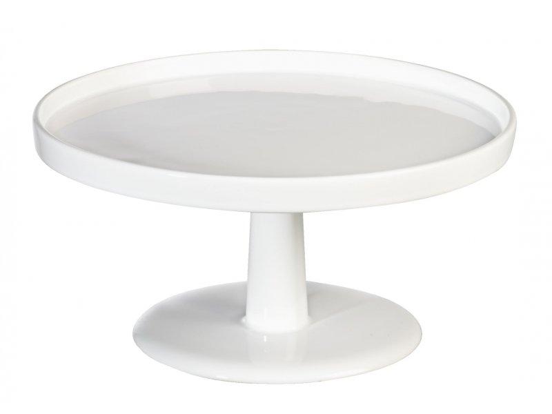 ASA Tortenplatte grande auf Fuß D. 28 cm, weiß