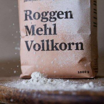 Biohof May Bio-Roggenmehl Vollkorn 1 kg