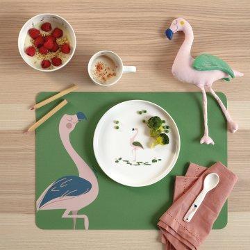 ASA Stofftier Fiona Flamingo