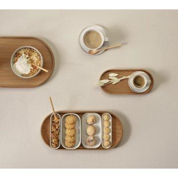 ASA Espressotasse mit Untersetzer COPPA, sencha beige