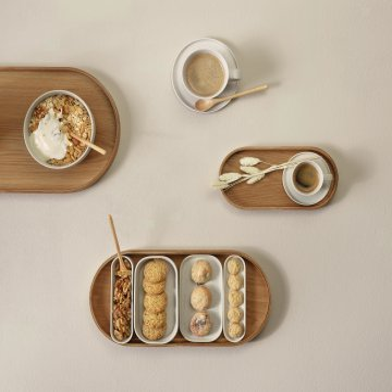 ASA Kaffeetasse mit Untersetzer COPPA sencha beige