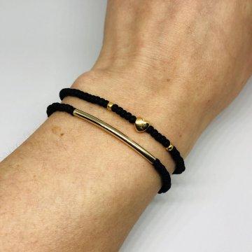 LiefLabel Freundschaftsbändchen Armband Perlen...