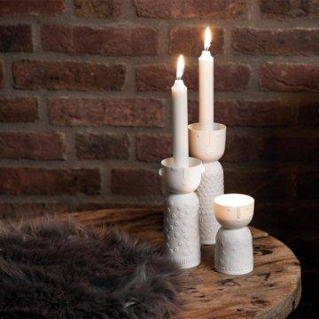 Räder Porzellangeschichten Kerzenhalter Lichtgestalt...
