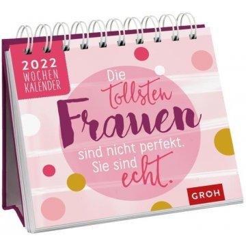 Spiralbuch - Wochenkalender 2022: Die tollsten Frauen...