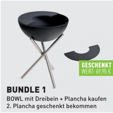 höfats BOWL BUNDLE 1 AKTION Dreibein und Plancha...