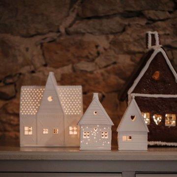 Räder Lichthaus Lebkuchen groß weiß...