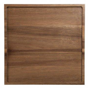 ASA Holztablett Wood quadratisch, Akazie