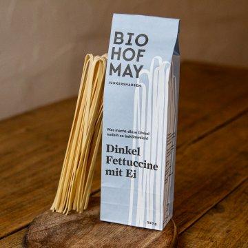 Biohof May Bio-Fettuccine (Dinkel/Ei)