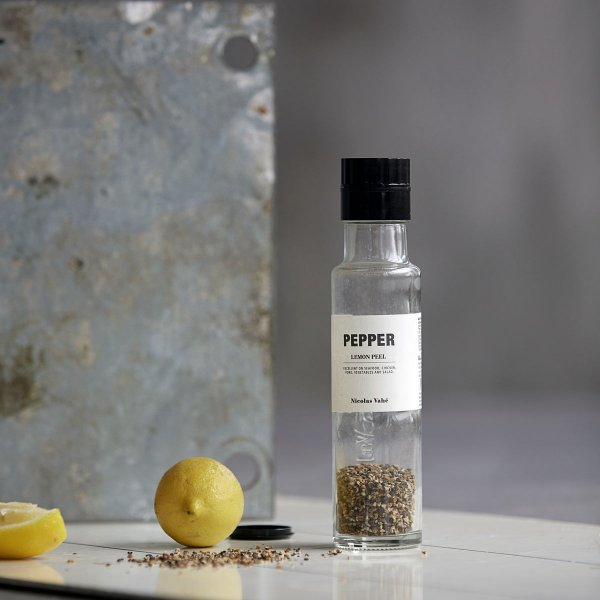 Nicolas Vahé Pepper with Lemon Peel, 150 g.