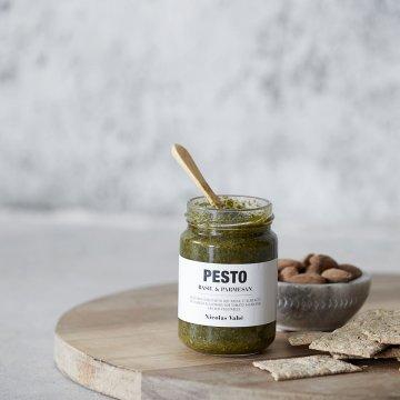 Nicolas Vahé Pesto mit Basilikum & Parmesan...