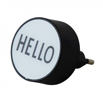 Design Letters MyCharger HELLO, white