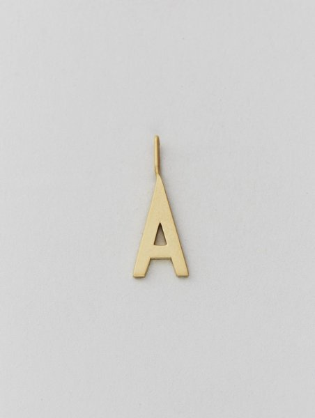 Design Letters Archetyp Anhänger 16mm, gold, A