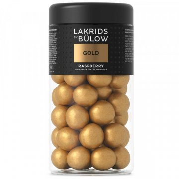 Lakrids by Bülow Regular Gold Raspberry