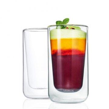 Blomus Latte Macchiato-Gläser NERO 2er Set,...