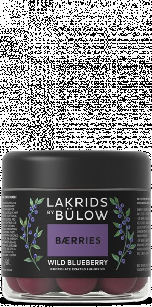 Lakrids by Bülow Small Baerries Wild Blueberry 125gr