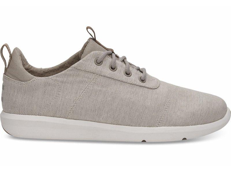 TOMS Cabrillo leichter Herren-Sneaker beige Tan Space-Dye 42,5 (9,5)