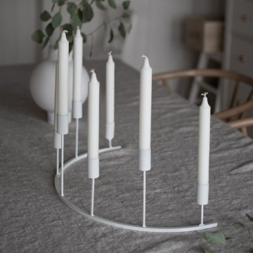 Storefactory TJÄRNÖ Kerzenhalter weiß